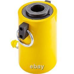 Hydraulic Cylinder Jack 60T 2 50mm Stroke Single Acting Hollow Ram Good Sealing