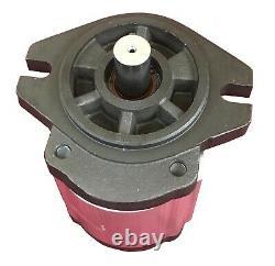 Hydraulic Gear Pump 28cc/rev 18.4gpm @ 2500rpm 3625psi Spline Shaft SAE A CCW