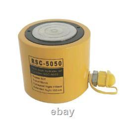 INTBUYING 50 Ton Hydraulic Cylinder 2 (50mm) Stroke Jack