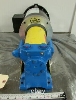 Idex Viking F432 Pump + Max Motion Mpr-124c Motor 1725rpm 1/2hp 1.5gpm Nnb