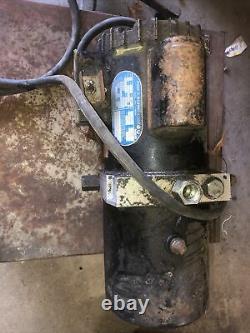 John S Barnes Hydraulic Power Unit Pump 120/240 VAC