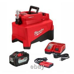 Milwaukee M18 2774-21HD 10,000 PSI Hydraulic Pump Kit with 12.0 Ah Battery -NEW