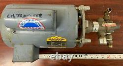 Oberdorfer 991R, Bronze Rotary Gear Oil Transfer Pump, 1/2 HP Baldor