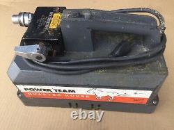 PE102 Power Team Model B, 115 VAC Hydraulic Pump