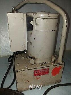 POWER TEAM ELECTRIC HYDRAULIC PUMP 10,000 psi
