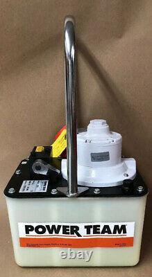 SPX Power Team PA172 Single Acting Air Pump 10,000 psi #20005/6