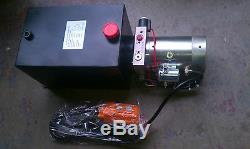 Singe Acting DC Hydraulic Power Unit Pack, with Remote Dump Tipper 2950 psi