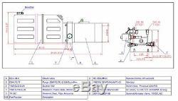 Single Acting Hydraulic Power Unit, Remote Dump Tipper Trailer Power Unit, NEW