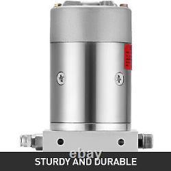 Single Acting Hydraulic Pump 12v Dump Trailer 4 Quart Metal Reservoir