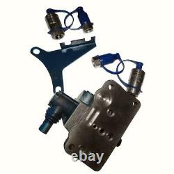 Single Spool Double Acting Hydraulic Remote Valve Kit Fits Ford Tractor 311877 2