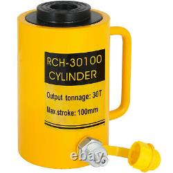 Single-acting Hollow Ram Cylinder 30tons 4 Stroke Hollow Straightening Pulling