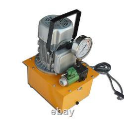 TECHTONGDA 110V High Pressure Electric Hydraulic Pump 750W 10000 PSI