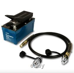TEMCo Air Hydraulic Pump Power Pack Unit 10,000 PSI 103 in3 Cap 5 YEAR Warranty