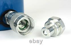 TEMCo HC0008 Hydraulic Cylinder Ram Single Acting 10 TON 6 Inch Stroke