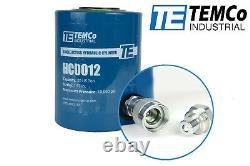 TEMCo HC0012 Hydraulic Cylinder Ram Single Acting 30 TON 2 Inch Stroke