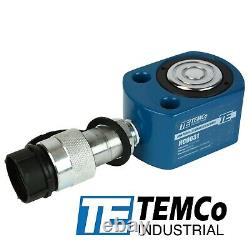 TEMCo HC0031 Low Profile Height Hydraulic Cylinder Puck 10 Ton, 0.39 Stroke