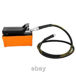 VEVOR Air Hydraulic Foot Pump with Hose and Coupler 10000 PSI 1/2 gal Post