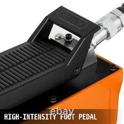 VEVOR Air Hydraulic Pump 10000 PSI 1/2 Gal Reservoir Hydraulic Foot Pump Post