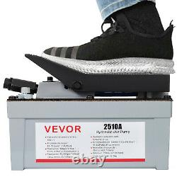 VEVOR Air Powered Hydraulic Foot Pump 2510A Power Release Pressure Auto Repair
