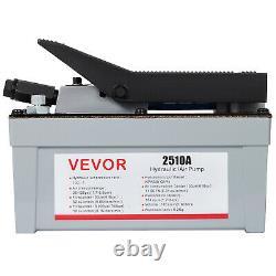 VEVOR Air Powered Hydraulic Pump 10,000 PSI Quick Power Air Foot Pedal Pump