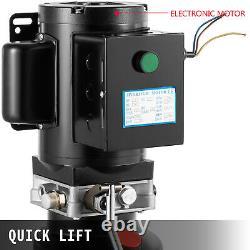 VEVOR Car Lift Hydraulic Power Unit Pump 220V 60HZ Single Phase 3400 rpm 2.64Gal