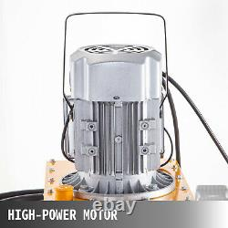 VEVOR Electric Hydraulic Pump 2 Stage Solenoid Single Acting 10K PSI 7L Cap