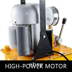 VEVOR Electric Hydraulic Pump Power Pack 2 Stage Single Acting 10K PSI 7L Cap