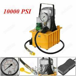 10000psi 110v 70mpa Pompe Hydraulique Électrique Valve Solénoïde Pedal Grand Contrôle