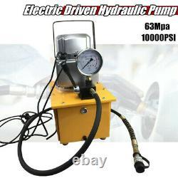10000psi Electric Driven Hydraulic Pump Single Actionn Manual Valve Capacité D'huile