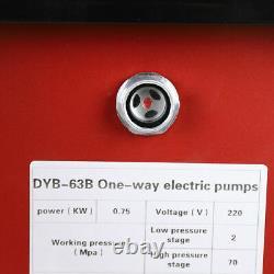 10000psi Pompe Hydraulique À Commande Électrique Simple Agissant 63mpa+1.8m Tuyau D'huile Ac110v