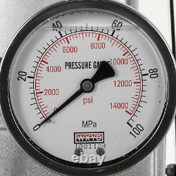 10000psi Pompe Hydraulique Électrique 110v 70mpa Pedal Solenoid Valve Control Winit