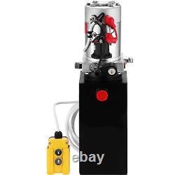 10 Quart Unité D'alimentation De L'unité D'alimentation De L'unité De Remorque À Pompe Hydraulique À Action Unique