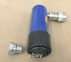 10 Ton 4 Pouces Course Hydraulique Ram Cylindre À Fond Plat Salut Reconstructible Qualité