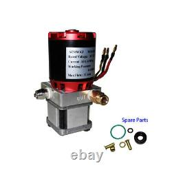 10mpa Dc12v Single Acting Hydraulic Oil Pump Diy Tamiya Dump Trailer Modèle Robot
