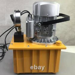 110v 63mpa Pompe Hydraulique À Commande Électrique 10000psi Valve Manuelle À Action Unique Us