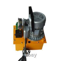 110v Nouvelle Télécommande À Commande Unique Valve Électrique Pompe Hydraulique 10000 Psi