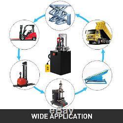 20 Pintes Pompe Hydraulique Unique Par Intérim Dump Remorque Réparation 12v Unité Pack
