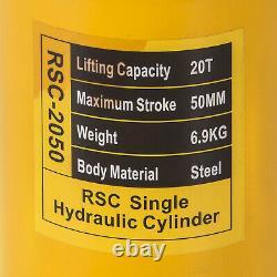 20 Tonnes 2 St Simple Effet Creux Ram 10000psi Cylindre Hydraulique Jack Yg-2050k