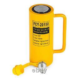 20 Tonnes 6 Temps Simple Effet Cylindre Hydraulique 10000psi Jack Ram