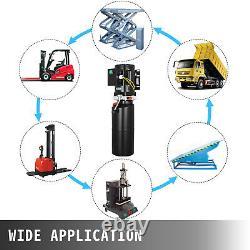 220 V Unité De Levage Hydraulique Électrique De Voiture Automatique Pompe Hydraulique 10l Hoist Véhicule De