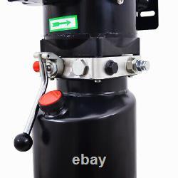 220v Manual Control Car Lift Hydraulic Power Lifting Unit Single Acting Nouveau