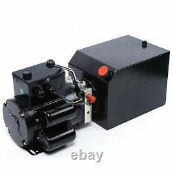 2.2kw Lifting De Voiture De L'unité De Puissance Hydraulique Pompe Hydraulique Automatique 14l 3.5gal Véhicule Hoist