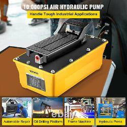 2.3l 10 000psi Air Hydraulique Pompe À Pédales Machine À Cadre De Carrosserie Automatique Pneumatique