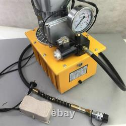 2 Stage Solenoid Valve Electric Hydraulic Pump Power Pack 110v 10k Psi Hydraulique