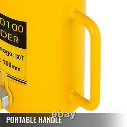 30ton 4 Cylindre Hydraulique Creux Jack De Redressage De Métal Agissant Seul