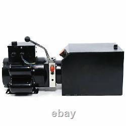 3.5 Gallon 2.2kw Auto Car Lift Hydraulic Power Unit 220v60hz 3 Ph Pompe Hydraulique