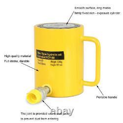 50 Tonnes 4 100mm Stroke Single Acting Hydraulic Cylinder Jack 10000psi