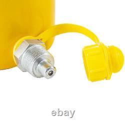 50 Tonnes 6 ' ' Stroke Simple Effet Cylindre Hydraulique Jack Ram À Haut Rendement