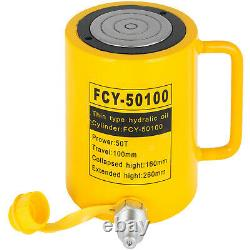 50t 4 Atteinte Cylindre Hydraulique À Action Unique
