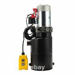 6 Quart Hydraulic Power Unit Pompe 12v Remorque À Douille À Action Unique